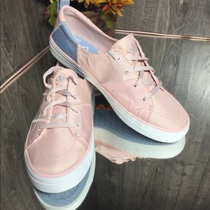 🛍Sperry Crest Vibe BIONIC Yarn WN Shoes Pink/Blue